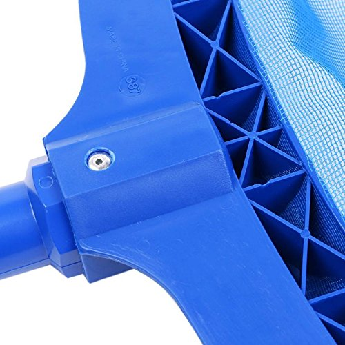 Professional Leaf Rake Mesh Frame Net Skimmer Cleaner Swimming Pool Spa Tool New by ??WOMU (Image #3)