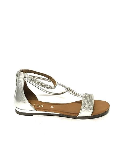 Mainapps Piel De Para Vestir Shoes Sandalias Zeta Mujer BqF7n
