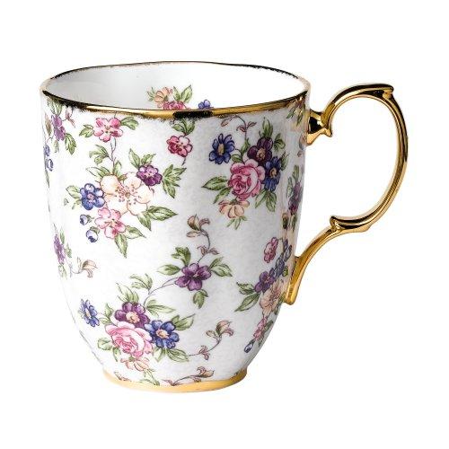 (Royal Doulton-Royal Albert 100 Years 1940-English Chintz Mug)