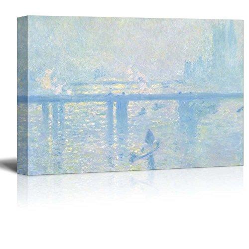 Claude Monet Charing Cross Bridge Impressionist Art