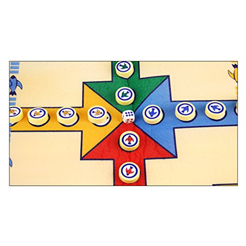 Fenteer 駒 ボードゲーム 飛行 チェスカーペット 子供 古典的 フライトゲーム おもちゃ ギフト 16ピースセット