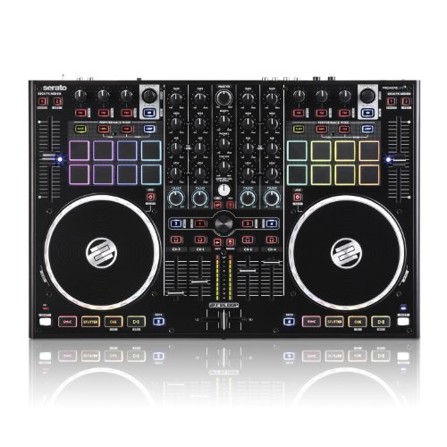 Reloop Terminal Mix 8 4-Deck Serato DJ-Performance Pad Controller (TM8) by Reloop