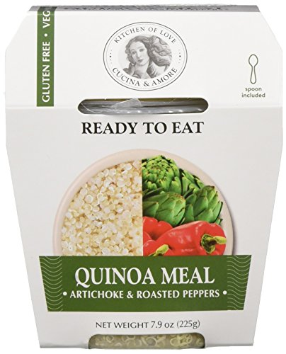 Cucina & Amore Quinoa Meal Artichoke & Roasted Pepper 7.9oz, Pack of 6