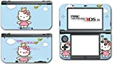 Hello Kitty Blue Sky Birds Teddy Bear Video Game Vinyl Decal Skin Sticker Cover for the New Nintendo 3DS XL LL 2015 System Console