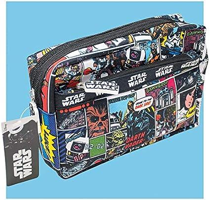 Star Wars Rogue 1 - Estuche multibolsillos para lápices, producto oficial: Amazon.es: Oficina y papelería