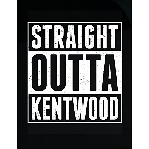 Kentwood Shield - AttireOutfit Straight Outta Kentwood - Sticker