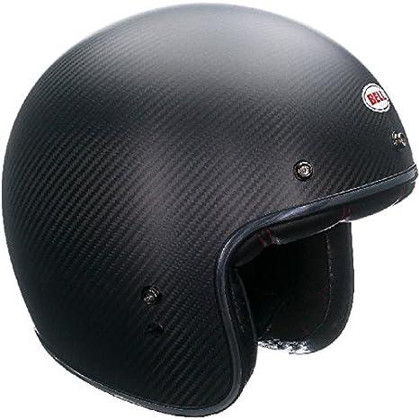 Matte Bell Helmets 7062330 Street 2015 Custom 500 Carbon Adult Helmet XXL
