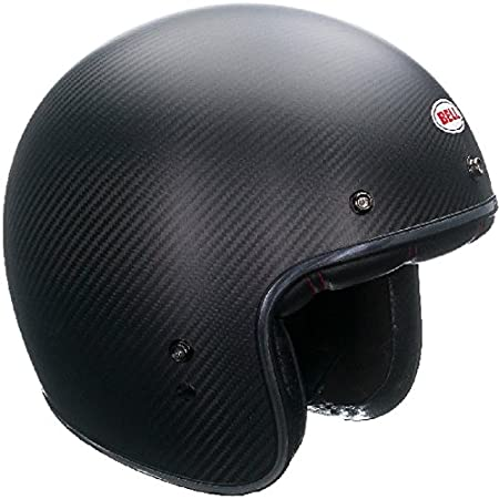 Size Medium Carbon Black Matt Bell Custom 500 Helmet