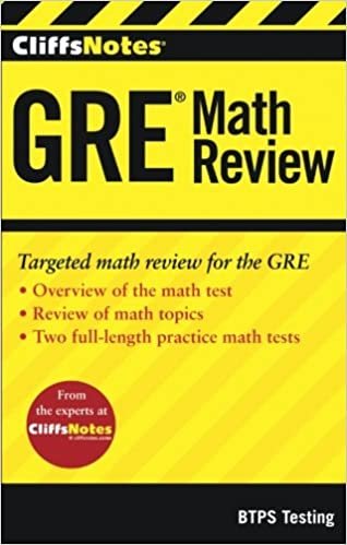 Cliffsnotes gre math review btps testing 9781118356241 amazon cliffsnotes gre math review 1st edition fandeluxe Gallery