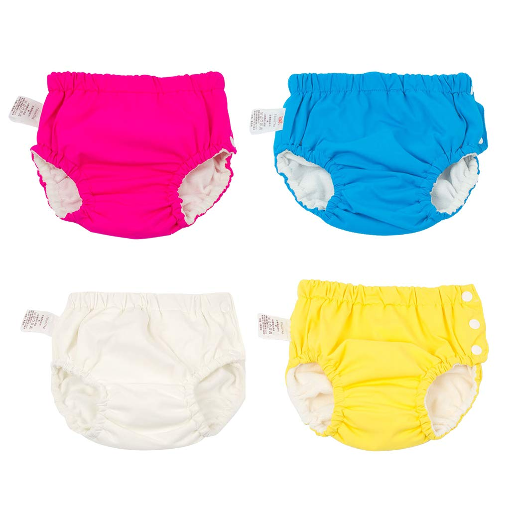 as described for6-12KG D DOLITY Baby Reusable Swim Pant Diapers Waterproof Pool Pant Swimming Lessones Rose red