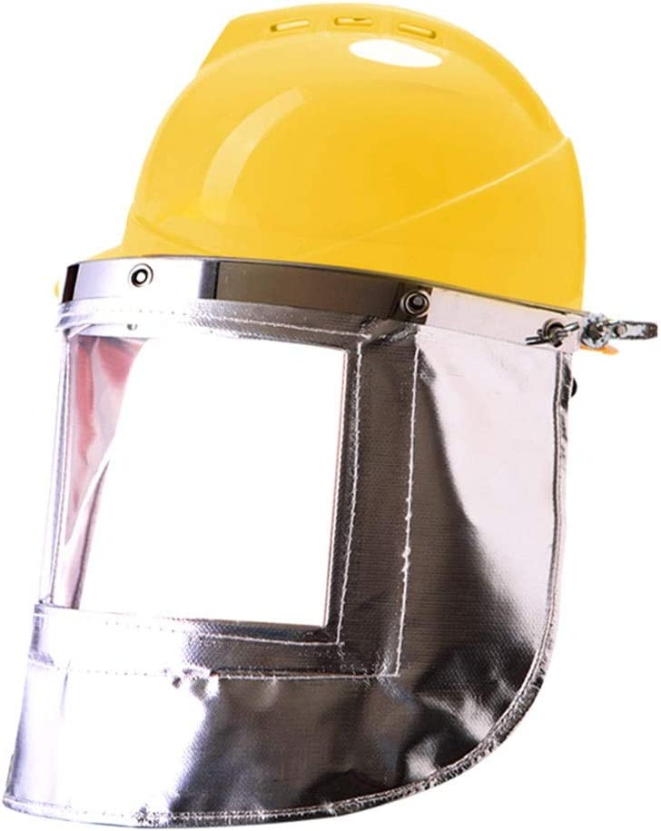 Viseras Escudo Cara Resistente A Altas Temperaturas Máscara De ...
