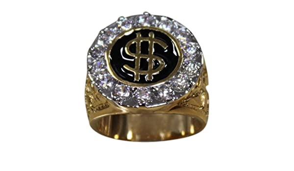 S R Covenant 2259 CUBIC ZIRCONIA ENAMEL RING Size 13