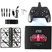 Z8 RC Drone Wifi FPV Quadcopter ,with 6-Axis Gyro 2.4G Altitude Hold 0.3MP HD Camera UFO Quadcopter Pocket, [Easy to Fly for Beginner] (Black)