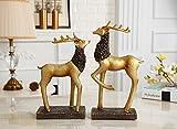 American deer Village living room TV cabinet cabinet retro ornament crafts Home Furnishing Nordic entrance zj01261009