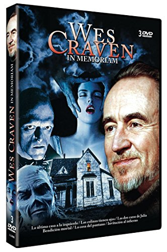 Wes Craven - In Memoriam Collection (6 Films) - 3-DVD Set ( The Last House on the Left / The Hills Have Eyes (Blood Relations) / Stranger in Our House / D [ NON-USA FORMAT, PAL, Reg.0 Import - Spain ]