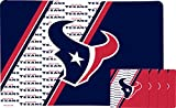 Duck House NFL Houston Texans Placemat & Coaster Set