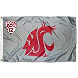 Washington State University PAC 12 Flag and Banner