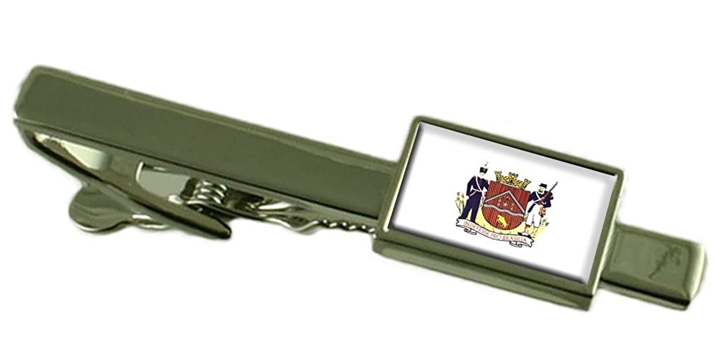 Select Gifts Uberaba City Minas Gerais State Flag Tie Clip