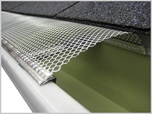 5'' Small Hole Speed Screen Gutter Guard/Gutter Protection/Leaf Protection (200ft/box) by Lynch Aluminum (Image #3)