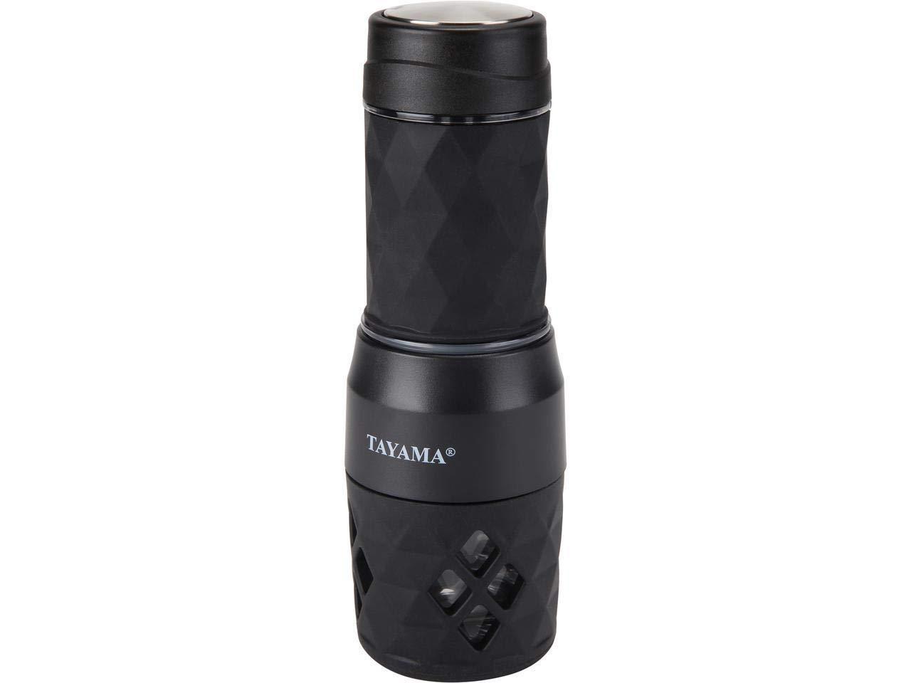 Tayama TMS-838 Portable Hot/Cold Espresso Machine, one size Black