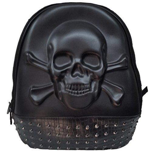 Banned Rucksack - 3D Skull
