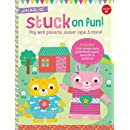 Stuck on Fun!: Play with patterns, sticker tape, and more! Includes: Cute press-outs, patterned paper, stencils & stickers! (Kids Craft Kit Series)