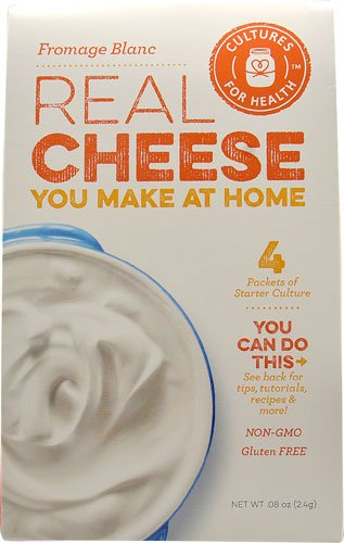 Cultures For Health Real Cheese Starter Culture Fromage Blanc -- 4 Packets