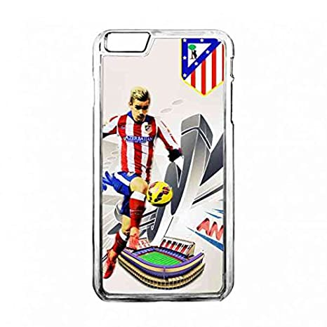 Club Atlético de Madrid carcasa Transparente Apple Iphone ...