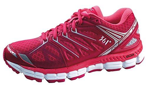 Laufschuhe Damen luftdurchlässig Quick foam 361° sensation rosa/rot (41.5)