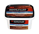 3M WF-STAINABLE32 Wood Filler, 32-Fluid Ounces, Stainable