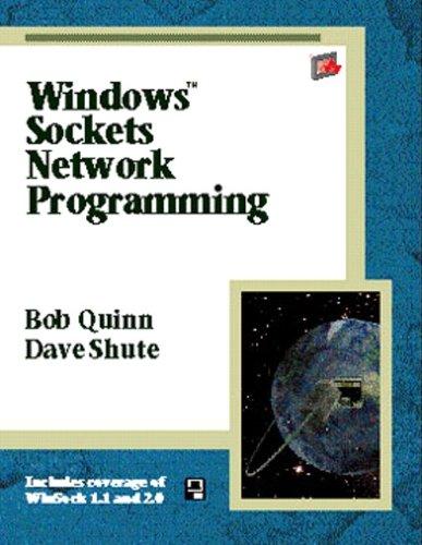 Windows Sockets Network Programming (Windows Socket Programming)