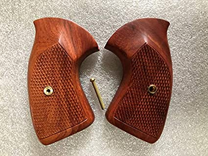 NEW Wood Grips for Colt Detective D Frame Square Butt