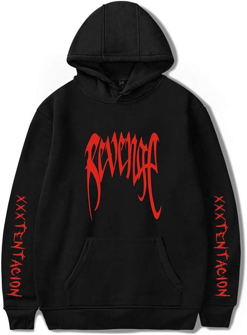 MIYECC Boys Activewear Hoodies with Xxxtentacion Novelty Hip Hop Pullover Sweatershirts