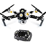 Skin For DJI Mavic – Daisies | MightySkins Protective, Durable, and Unique Vinyl Decal wrap cover | Easy To Apply, Remove, and Change Styles | Made in the USA