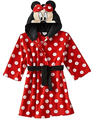Girls' Minnie Mouse Luxe Plush Robe