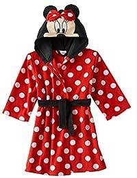 Disney girls Toddler Girls Minnie Mouse Luxe Plush Robe