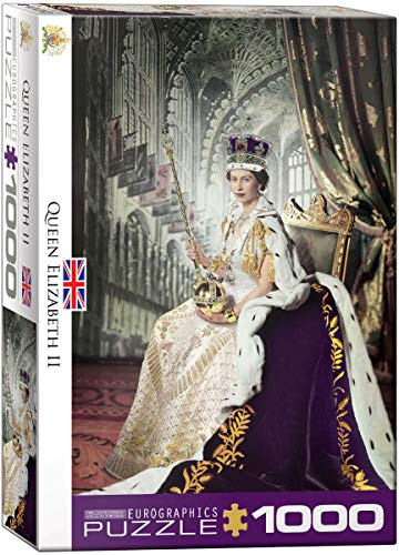 - EuroGraphics Queen Elizabeth II 1000-Piece Puzzle