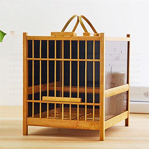Bamboo Birdcage - 1