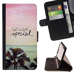 - We are Special/ Personalizada del estilo del dise???¡Ào de la PU Caso de encargo del cuero del tir????n del soporte d - Cao - For Samsung Galaxy Note 4 IV