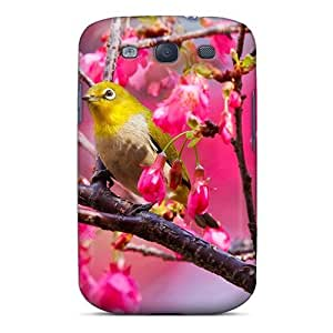 Excellent Design Birdie In Spring Case Cover For Galaxy S3 by lolosakes
