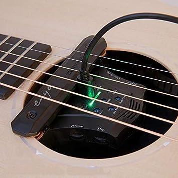 Enya G0 - Transductor eléctrico acústico para guitarra acústica ...