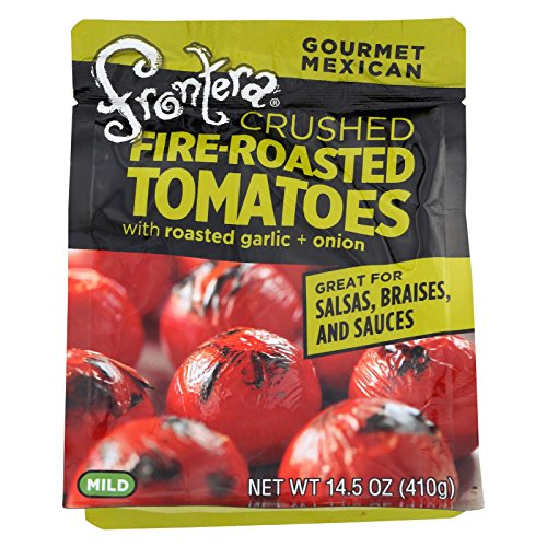 Frontera Crushed Fire Roasted Tomatoes with Garlic Plus Onion, 14.5 oz ()