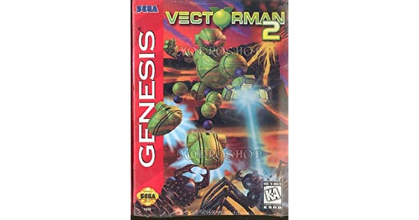 Vectorman 2 - Sega Genesis: Amazon.es: Videojuegos