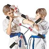 Liberty Imports Ninja Warrior Foam Nunchucks Sticks
