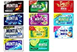 mint pie - MINTIA, Japanese Sugarless mint tablets,11 kinds of sets. No.a184