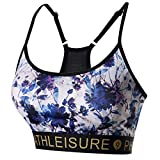 Best Bra For Small Busts - PutoItem Women Athletic Apparel Hill Floral Pattern Bra Review