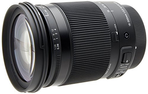 Sigma 18-300mm F3.5-6.3 Contemporary DC Macro OS HSM Lens for Canon ()