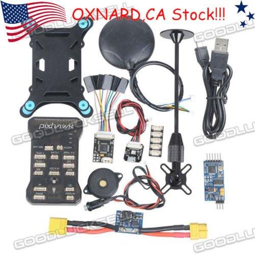 Pixhawk PX4 2.4.6 32bit ARM Flight Controller NEO-6M GPS OSD PPM Power Module CA by Gerneric
