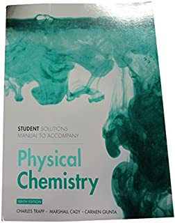 Physical chemistry 9th edition atkins de paula 9781429218122 student solutions manual for physical chemistry fandeluxe Images