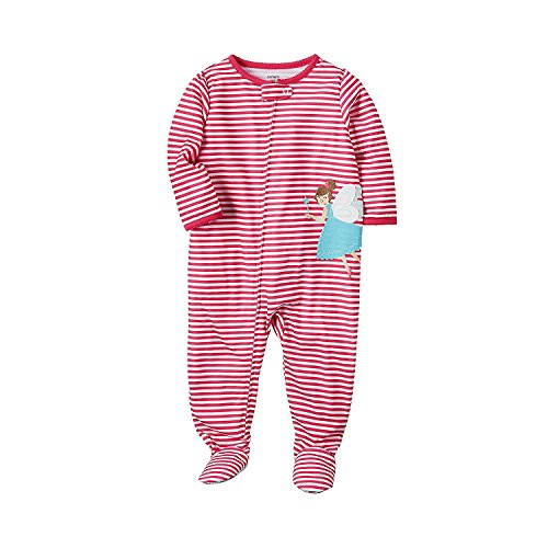 (Carter's Girls' 3T-4T Fairy Striped One Piece Cotton Pajamas 24 Months)